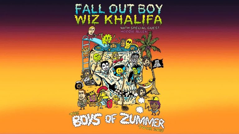 Wiz Khalifa on The Boys of Zummer tour was named one of the worst gigs by pop punkers reddit user