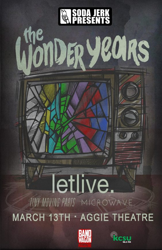 Worst gig: The Wonder Years' show with Let Live and Tiny Moving Parts was named as worst gig by a Pop Punkers reddit user